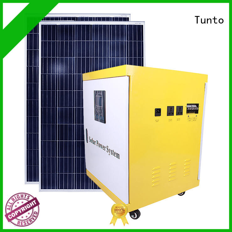 Tunto Brand portable polycrystalline solar panel solar factory