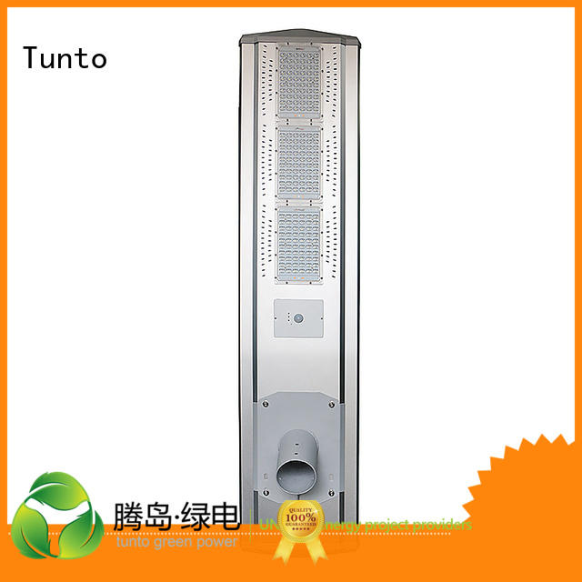 cool integrated solar led street light led Tunto company