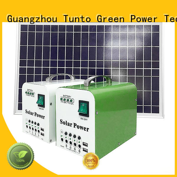 10w off grid power systems series for plaza