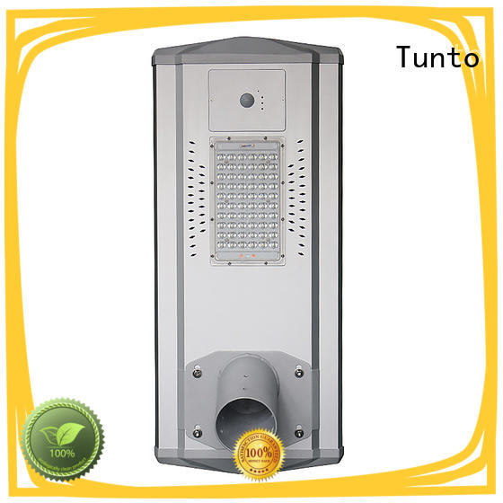 Tunto 30w solar powered yard lights factory price for parking lot