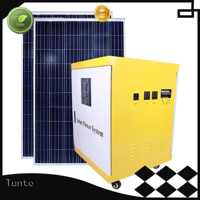 led street light solar system system generator Warranty Tunto