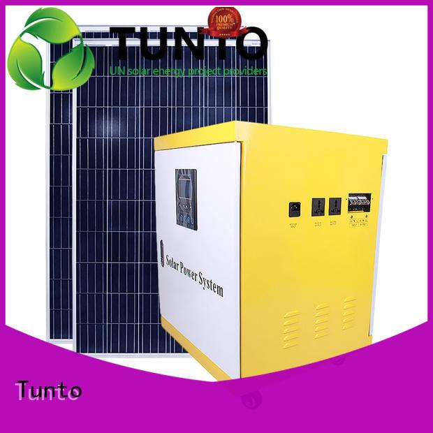 Tunto 3kw best solar inverters series for street