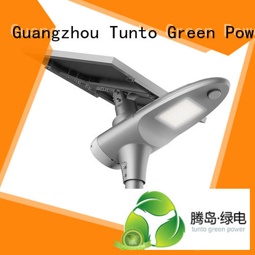 Tunto Brand battery bright saving custom integrated solar led street light