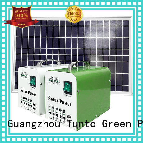 durable portable solar charging system supplier for camping
