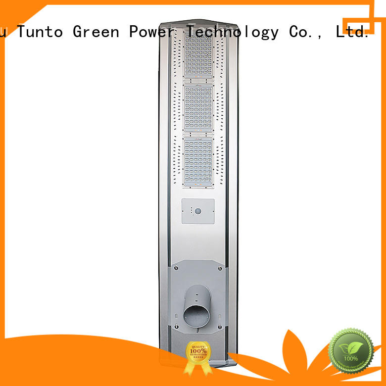 energy integrated OEM solar powered street lights Tunto