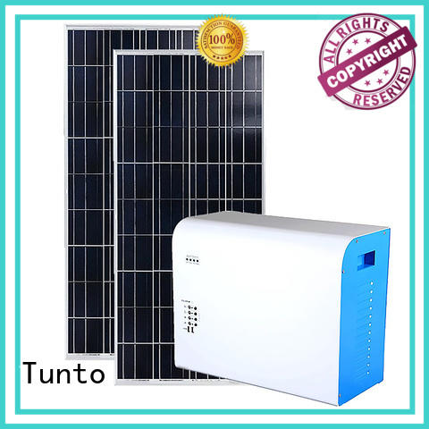 Tunto mini off grid solar panel system manufacturer for road