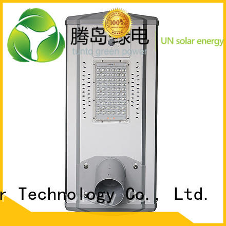 Tunto Brand waterproof light sensor solar powered street lights manufacture