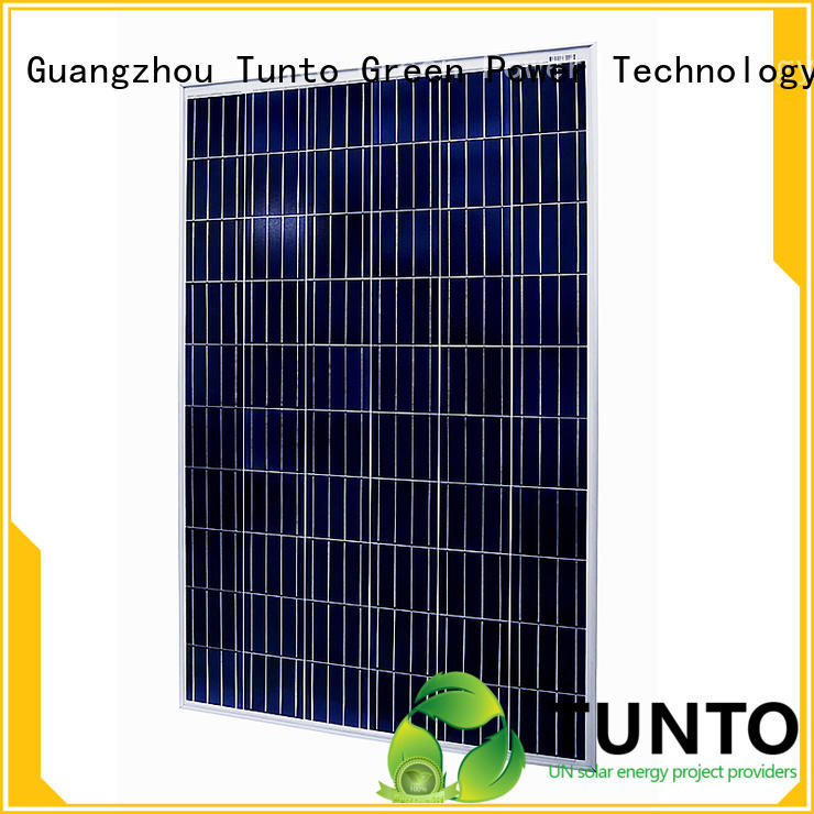 Tunto 150w off grid solar panel kits wholesale for household