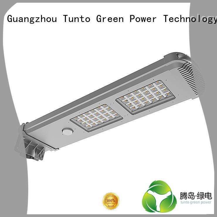 lighting bright Tunto Brand integrated solar led street light factory