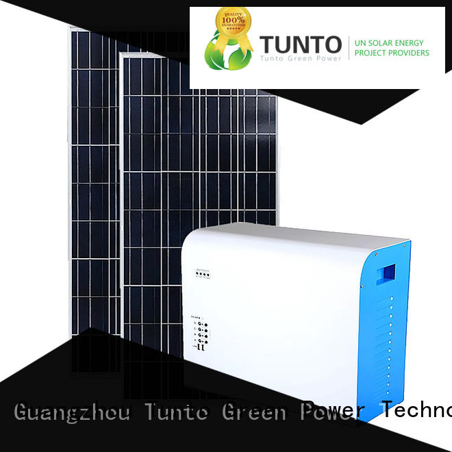 Tunto 3000w off grid power systems manufacturer for plaza