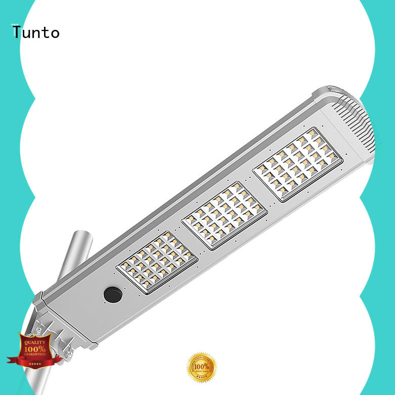Tunto quality solar panel outdoor lights wholesale for plaza