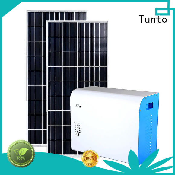 Tunto hot selling portable solar charging system customized for fishing