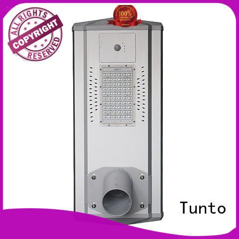 Tunto 30w solar street lamp personalized for plaza