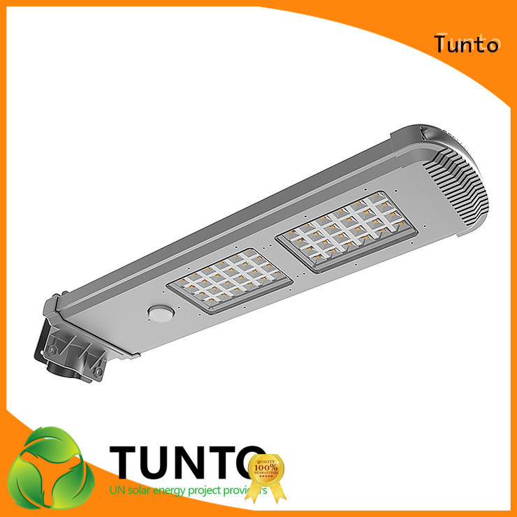 Tunto commercial solar street lights factory price for road