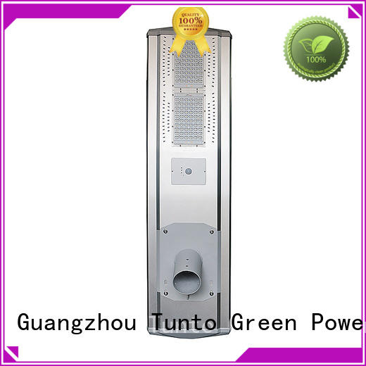 supper solar powered street lights warm Tunto company