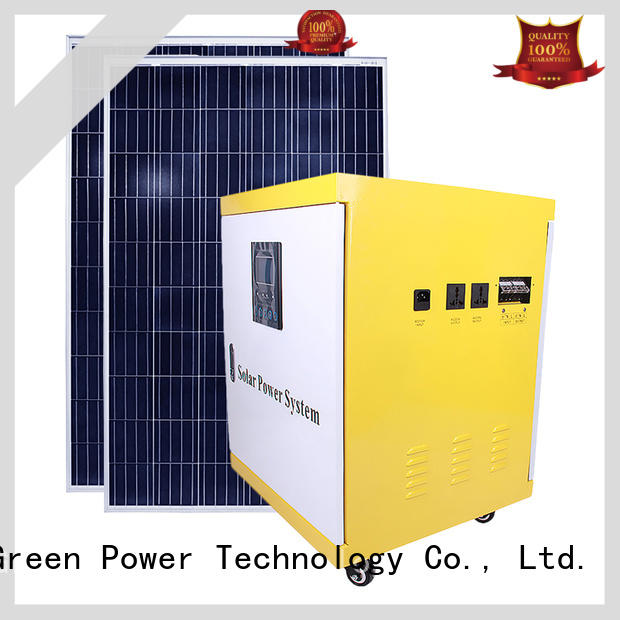 3000w solar power backup generator from China for street