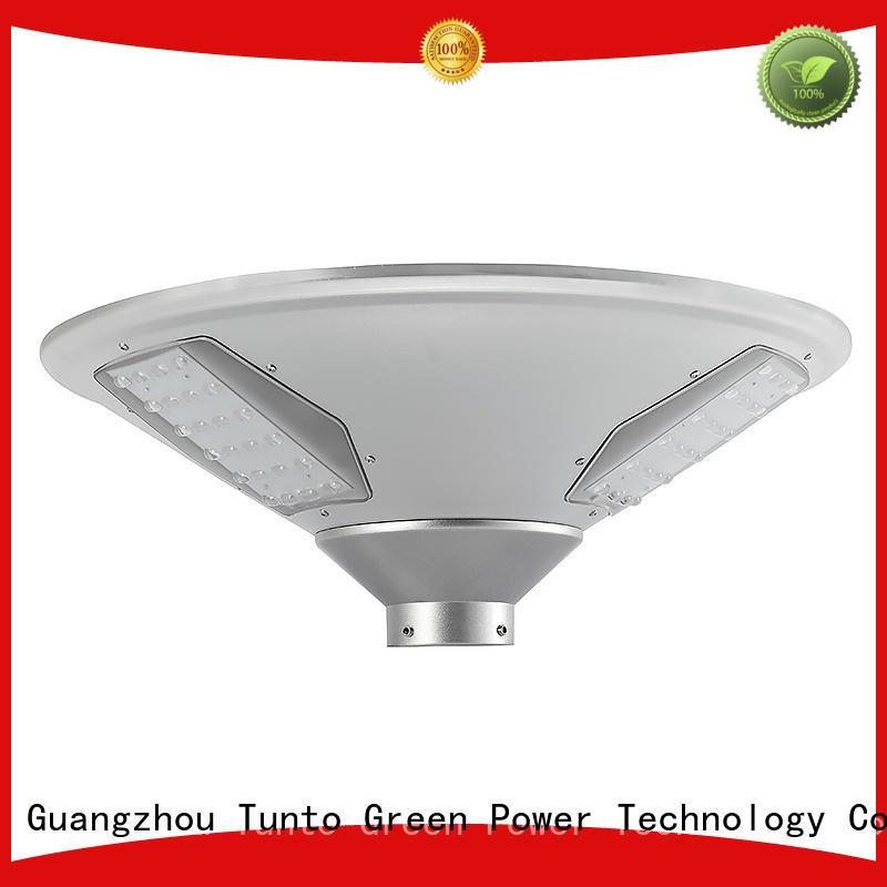 solar plaza light garden sensor street Tunto Brand company