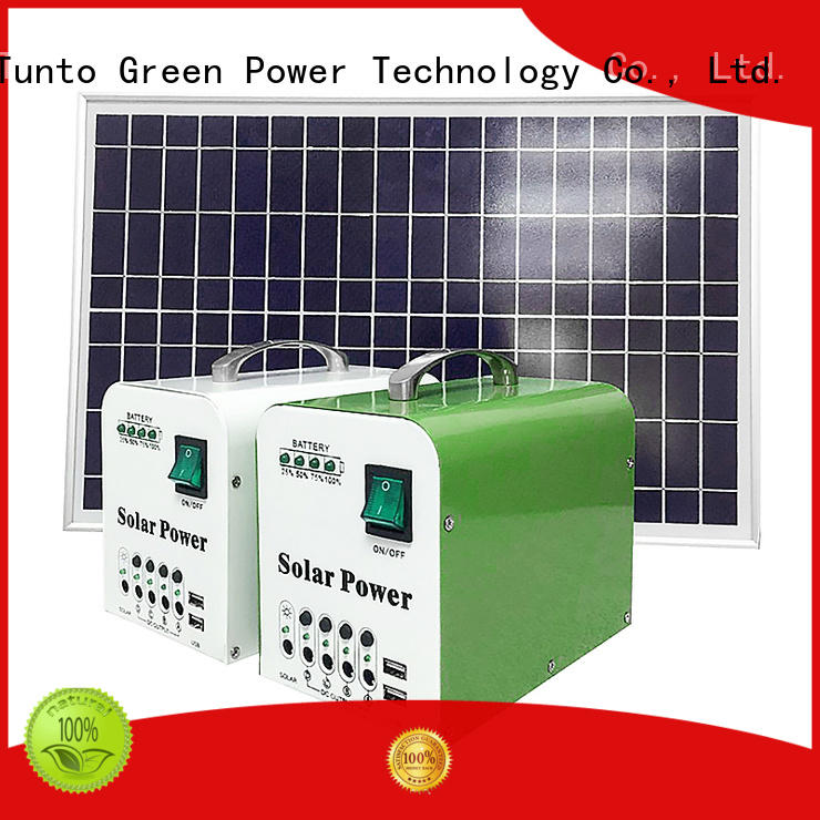 durable portable solar panels for sale manufacturer for road Tunto