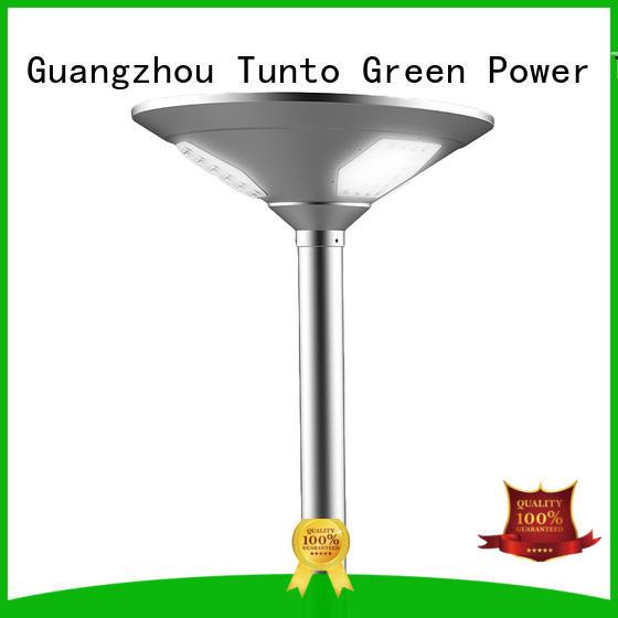 Tunto solar garden lamps factory for outdoor