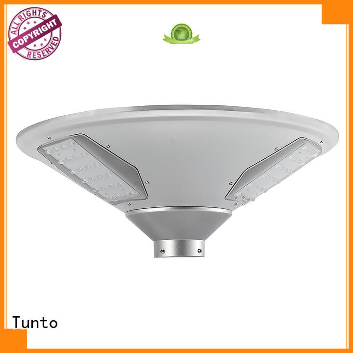 Tunto 15w solar garden lights factory for garden