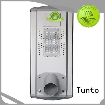 control intelligent solar powered street lights bright Tunto