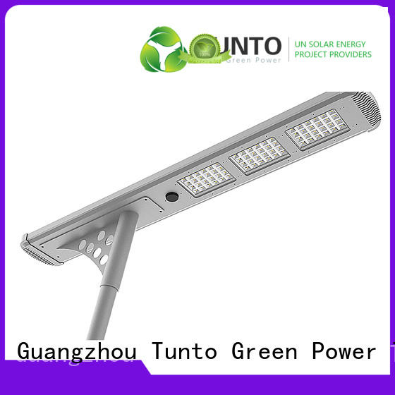 solar powered led parking lot lights for plaza Tunto