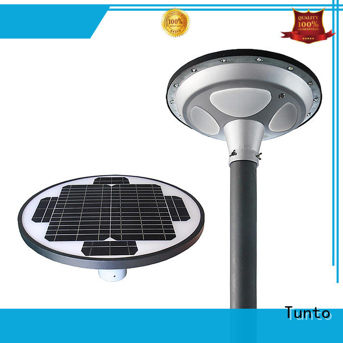 Tunto high quality solar outside lights with sensor design for garden