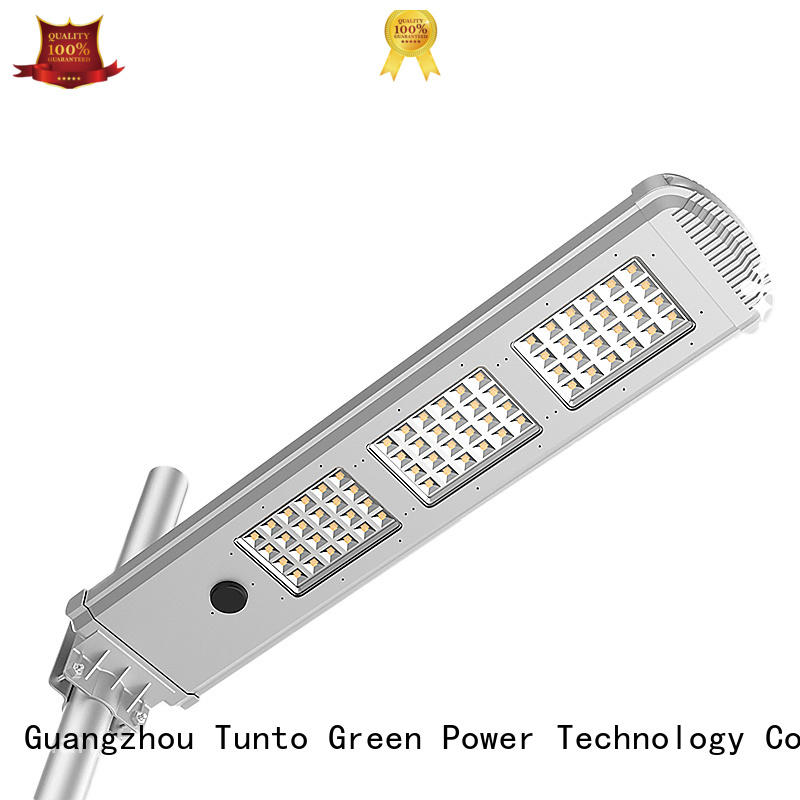 outdoor lamp quality solar powered street lights Tunto