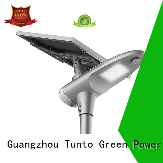 Tunto Brand power control one custom integrated solar led street light