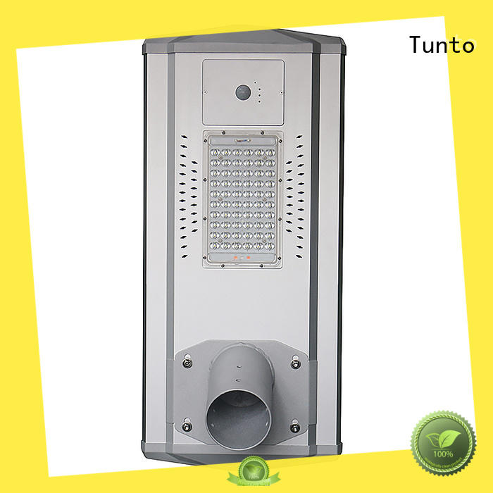 Tunto waterproof solar powered led parking lot lights for parking lot