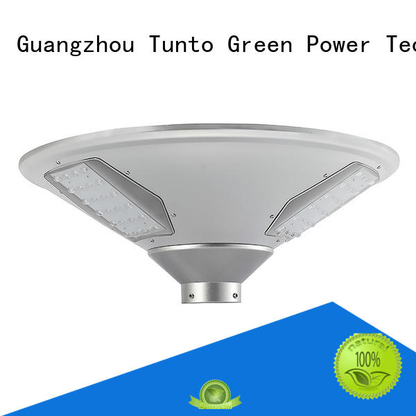 led outdoor bright solar garden lights powered Tunto company