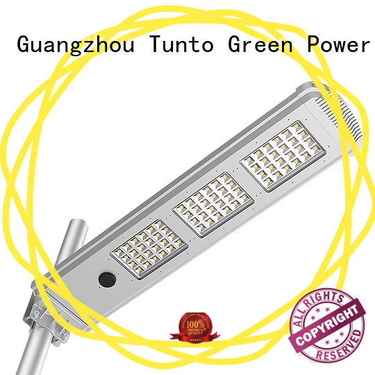 4000lm integrated solar street light personalized for road