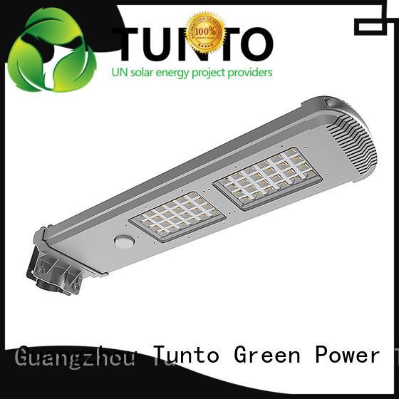 solar powered yard lights powered for plaza Tunto