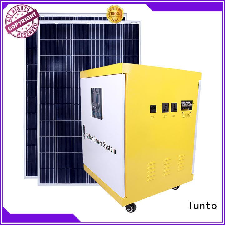 led street light solar system mini polycrystalline solar panel Tunto Brand