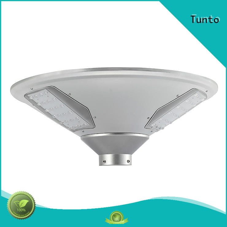 Tunto 20w solar plaza light manufacturer for outdoor