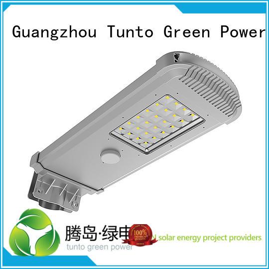 outdoor solar OEM solar powered street lights Tunto