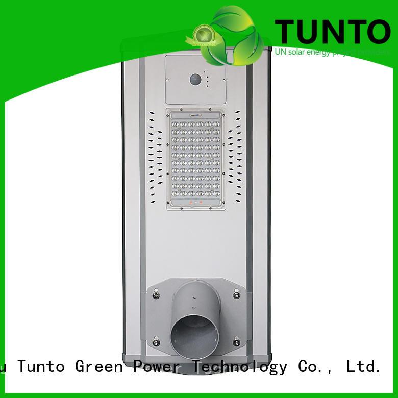 light led power solar powered street lights Tunto Brand