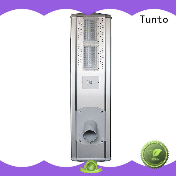 Tunto solar street light manufacturer wholesale for parking lot