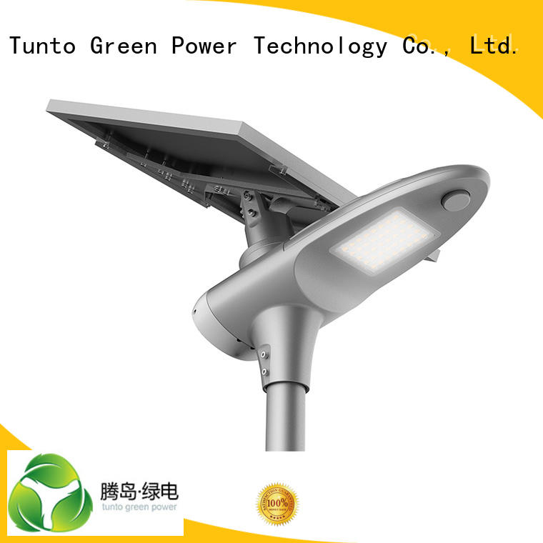 powered solar integrated solar led street light cool system Tunto Brand
