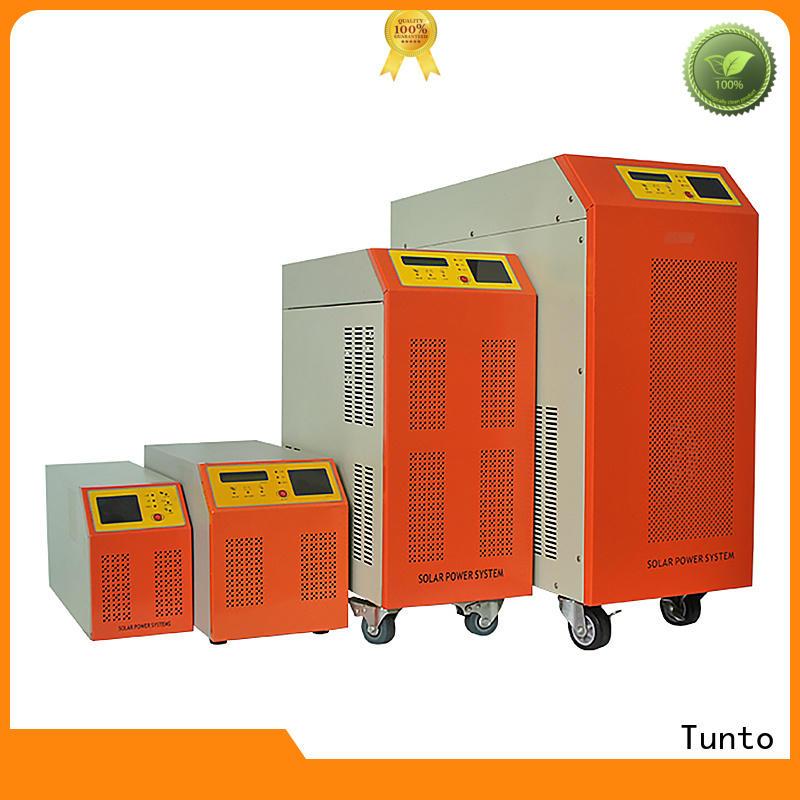 Tunto best solar inverters supplier for street lights