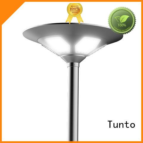 Wholesale powered solar plaza light outdoor Tunto Brand