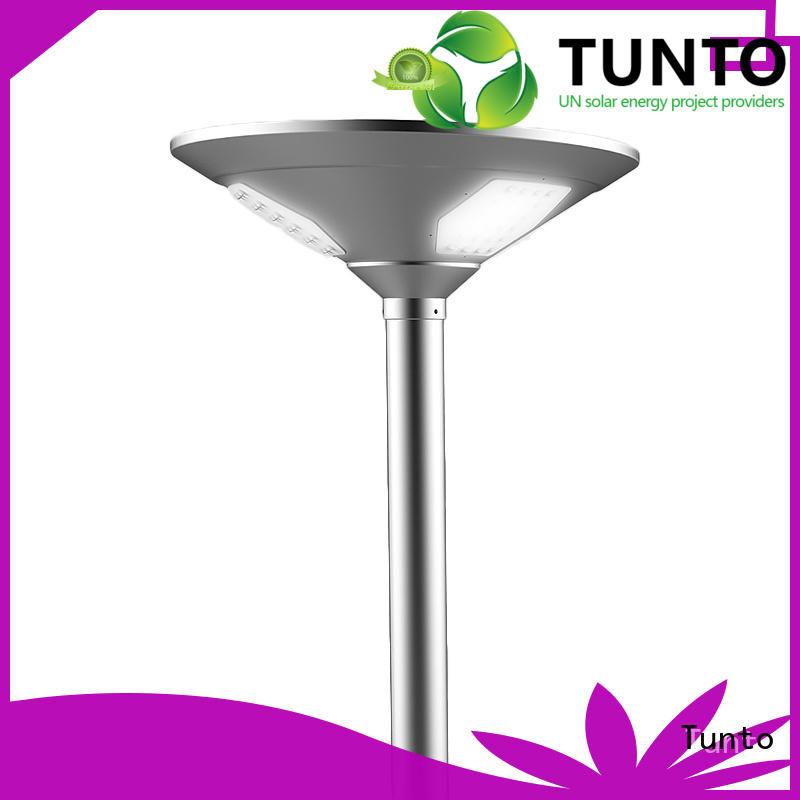 solar garden lamps powered panel for outdoor Tunto