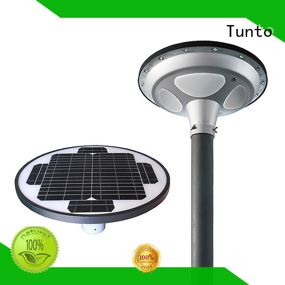 15w solar outside lights with sensor factory for plaza