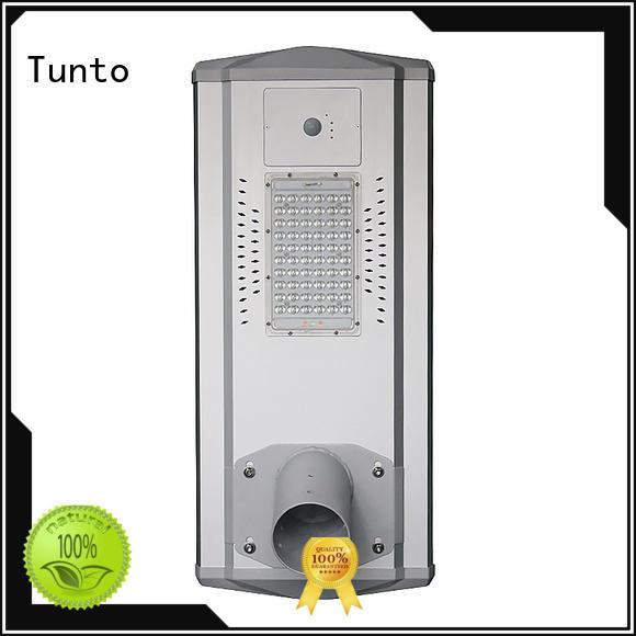 Tunto Brand led lot parking custom integrated solar led street light