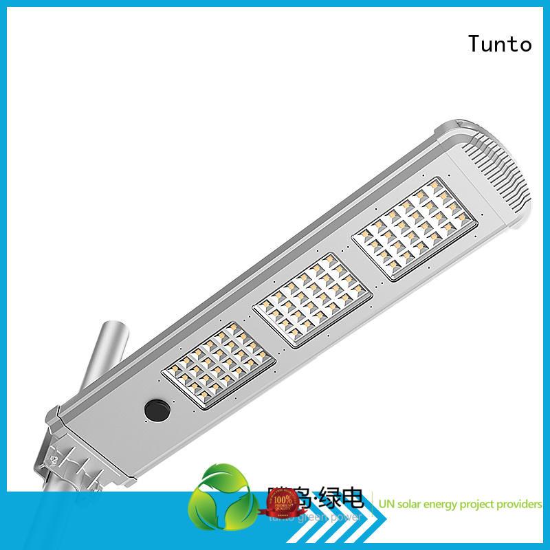 cool sensor Tunto Brand integrated solar led street light
