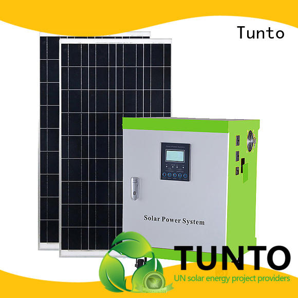 Tunto solar panel power inverter customized for plaza