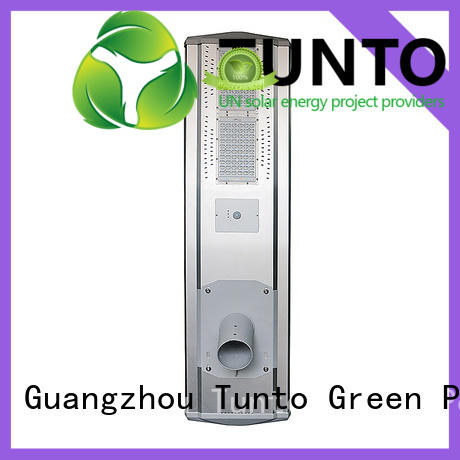 solar lights pole for parking lot for road Tunto