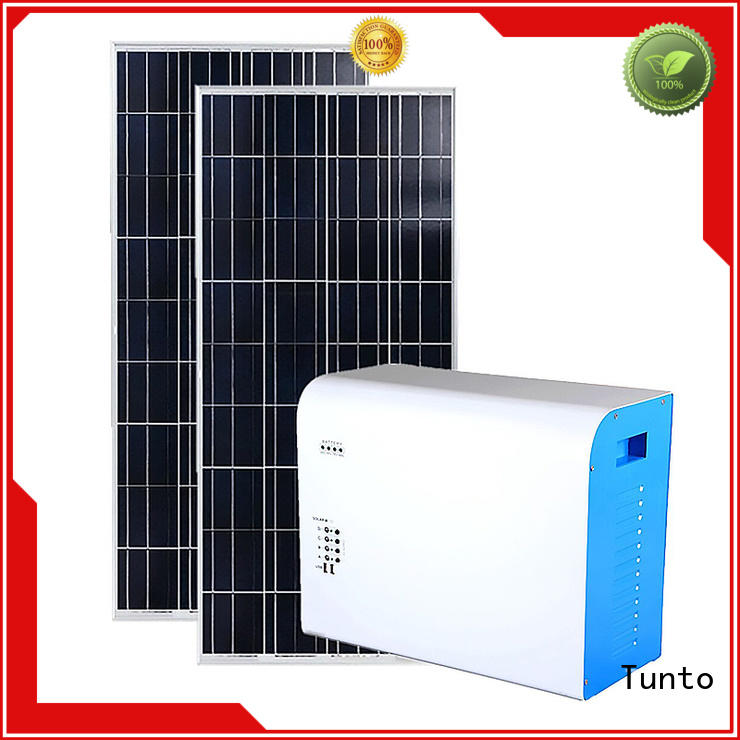 mini solar powered generators for sale from China for outdoor Tunto