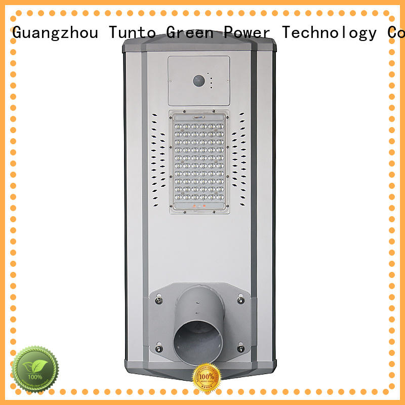 4000lm solar powered parking lot lights wholesale for outdoor