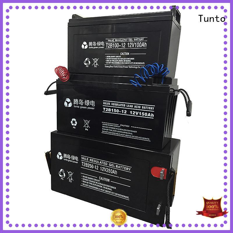 Tunto Brand batteries solar off grid solar kits with batteries leadacidgel